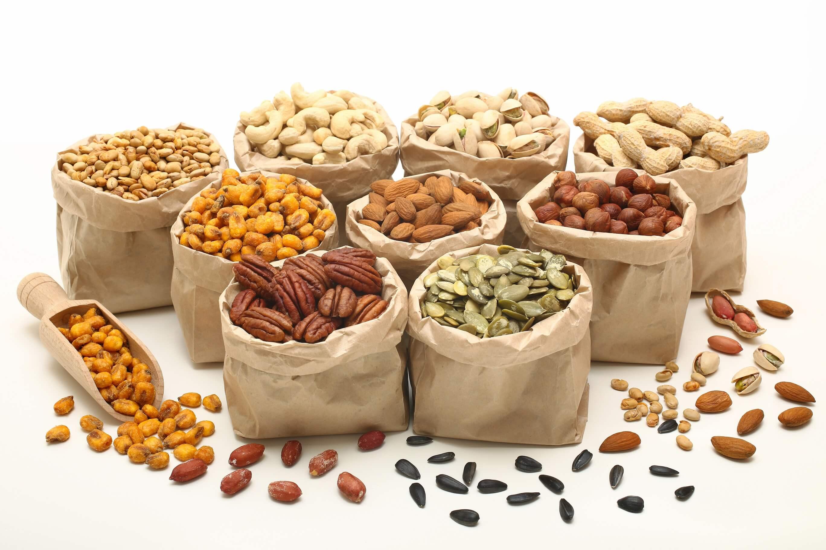 користь горіхів у раціоні дитини