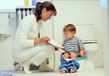 Запор у детей старше года – откуда он берется и как с ним бороться?