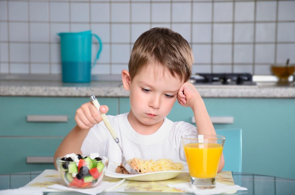 Погіршення апетиту у дитини