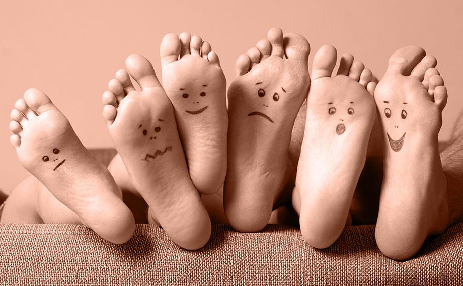 Запах від ніг. Якщо ноги погано пахнуть