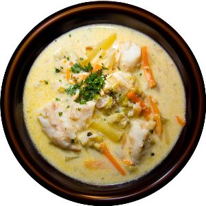Суп-пюре по-фламандски