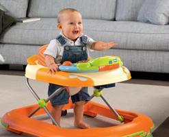 Ходунки для дитини: плюси і мінуси