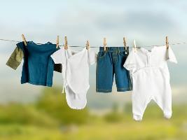 Правила прання дитячого одягу