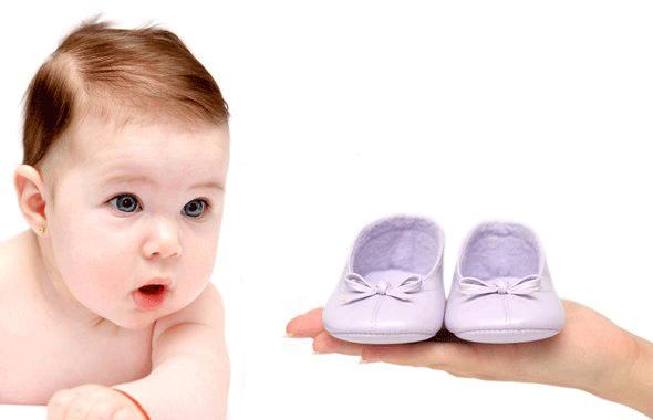 Перше взуття малюка