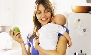 Правильне харчування годуючої мами в перший тиждень після пологів