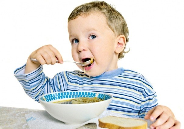 Харчування дітей на третьому році