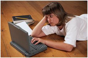 Комп'ютерна залежність підлітка