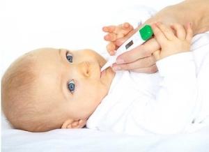 Підвищення температури тіла у немовля – норма чи патологія