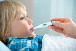 Способи зниження високої температури у дітей