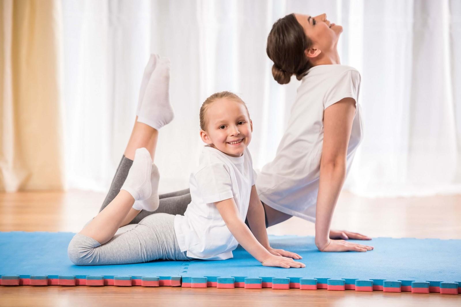 Йога для детей - в чем польза?