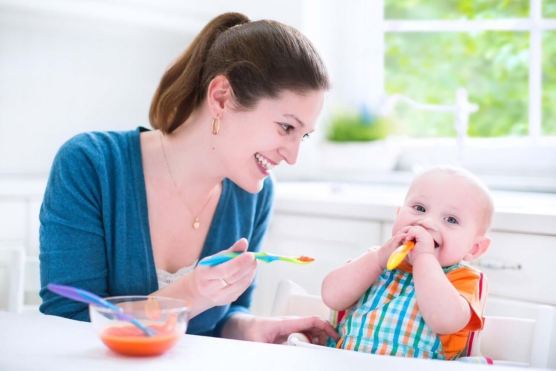 Питание ребенка 12 месяцев