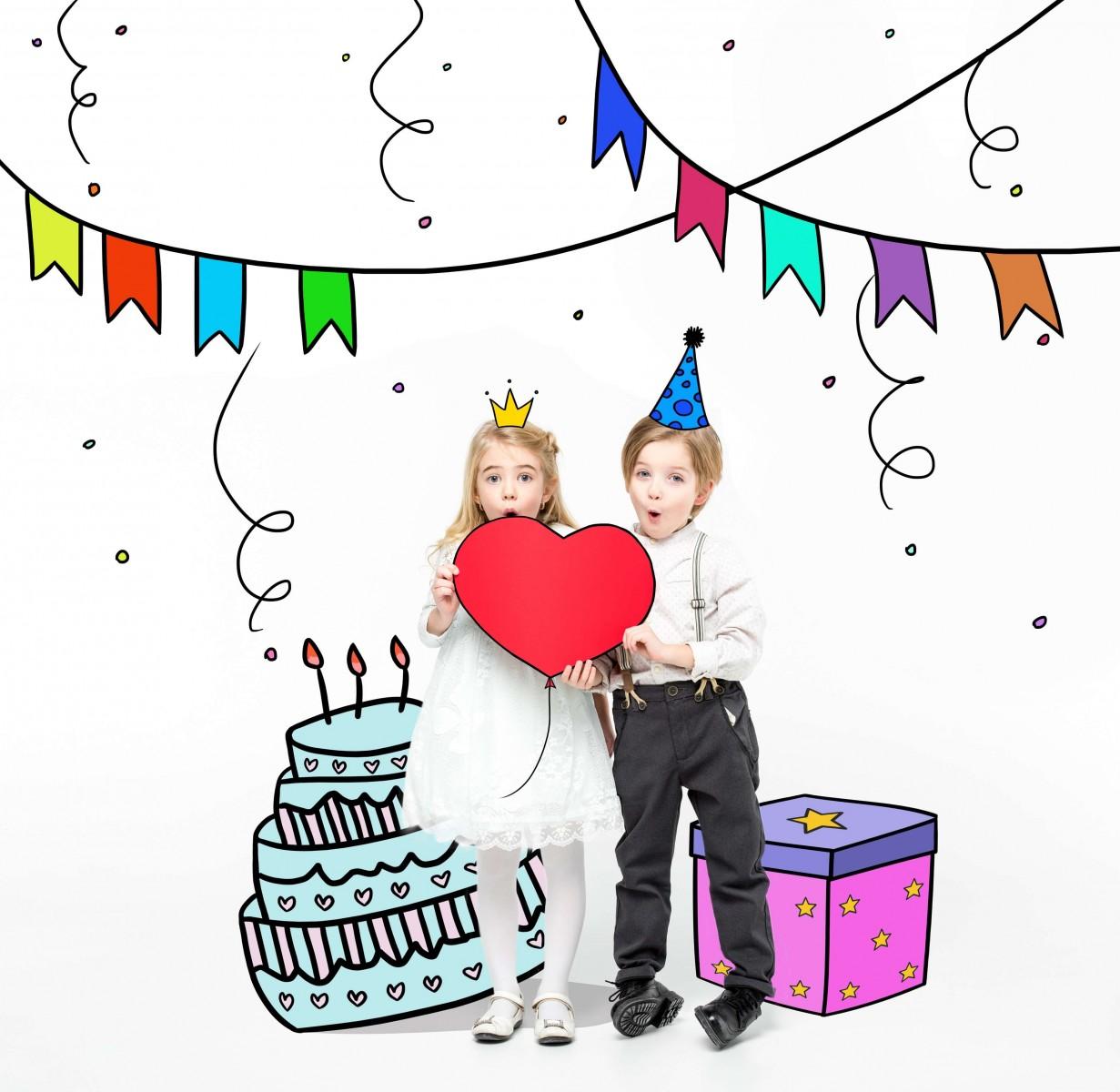 Організація дитячого свята для дітей від 1 до 4 років