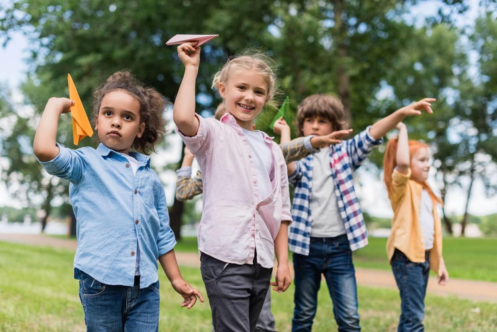 Веселі забави - ігри для дітей на вулиці