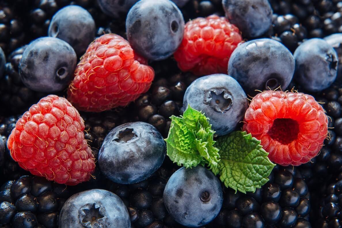 Ежевика и черника: лесные витамины