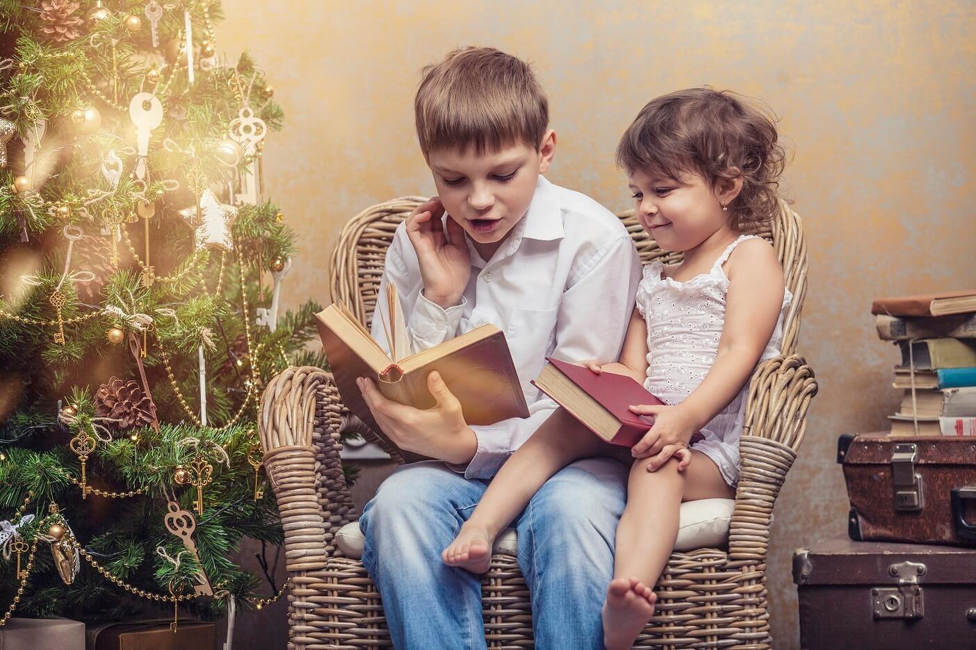 Что почитать с детьми на рождественских каникулах?