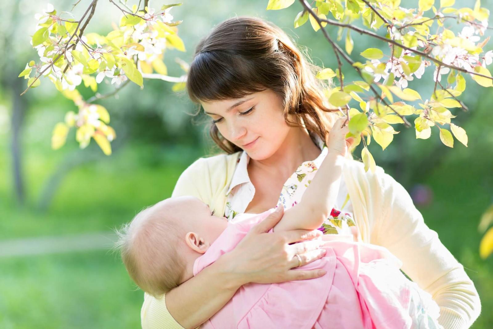 Режим і дієта матері-годувальниці