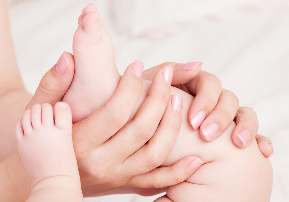 Масаж дітей від 4 до 6 місяців