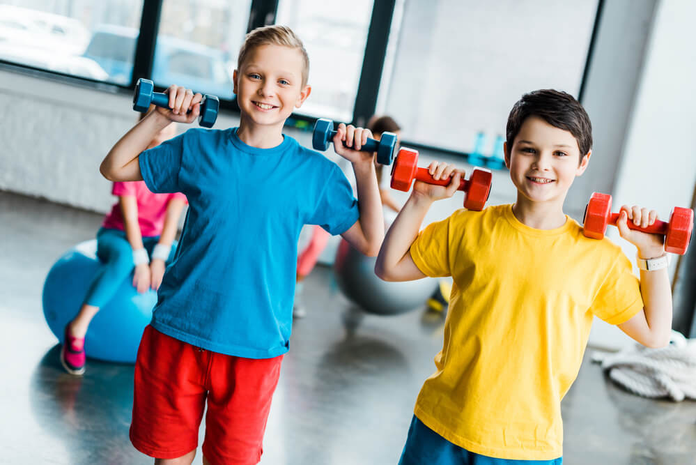 Физкультура в жизни ребенка