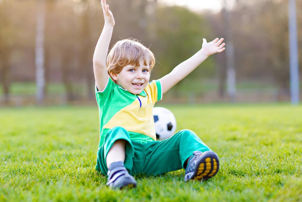 Первые занятия спортом