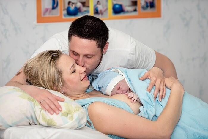 Правила та рекомендації для тата при партнерських пологах