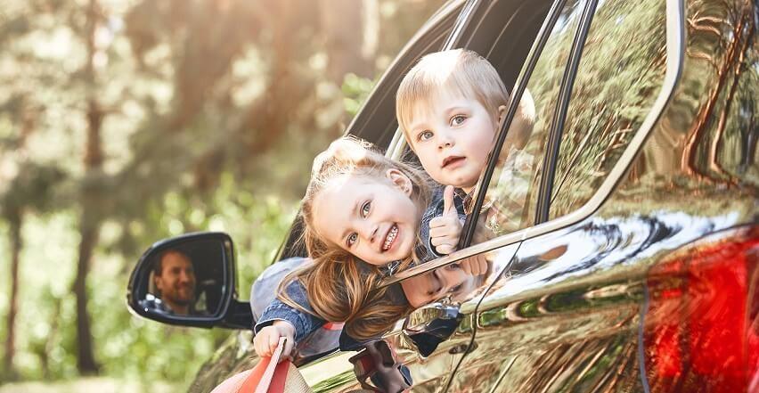 Путешествие с маленькими детьми